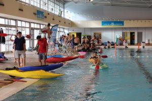 Téléthon 2018 – baptême kayak en piscine